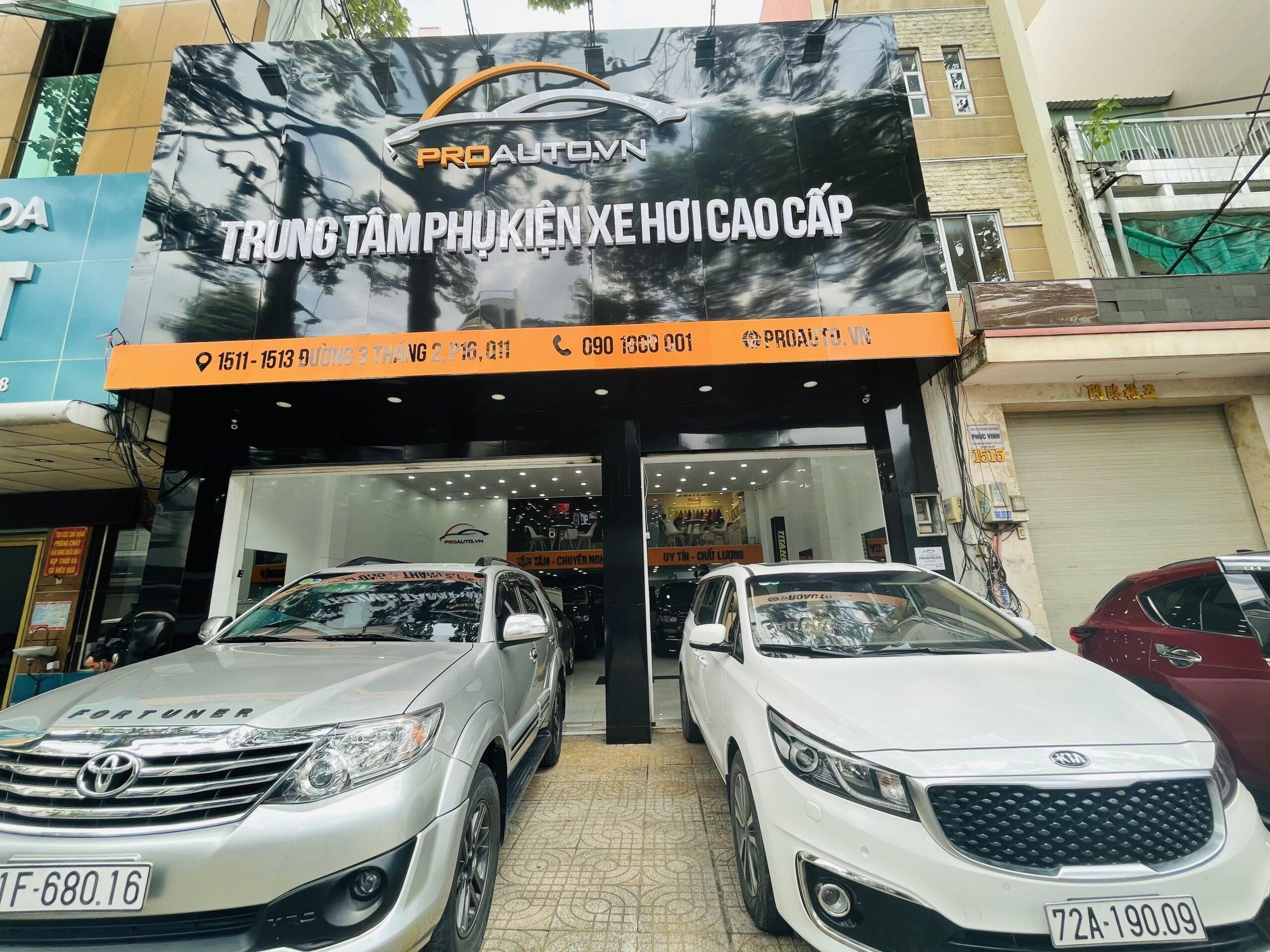 Trung tâm phụ kiện xe hơi cao cấp ProAuto