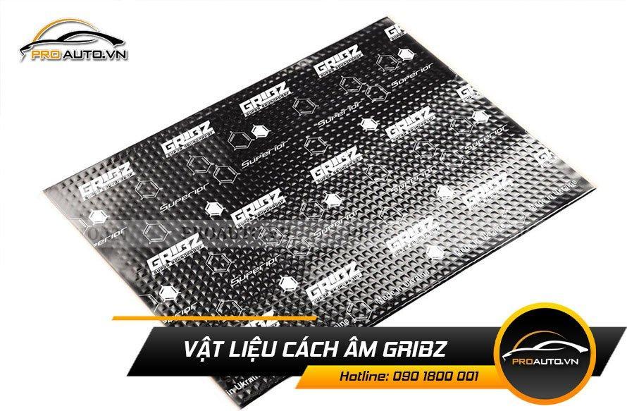 Vật liệu cách âm chống ồn Gribz (Ukraine)